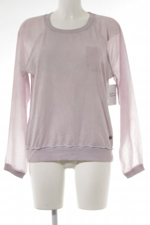 Lola by little West 8 Longsleeve rosé Street-Fashion-Look