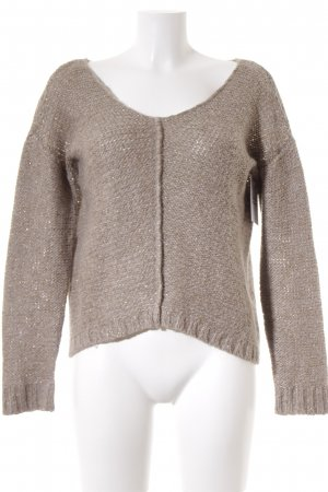 Lola by little West 8 Strickpullover camel Casual-Look