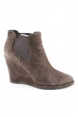 Lola cruz Ankle Boots graubraun Casual-Look
