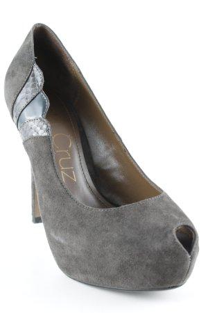 Lola cruz High Heels dunkelgrau Elegant