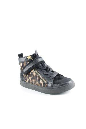 Lola cruz Zapatillas altas estampado de leopardo look casual
