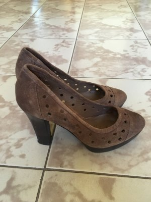 Lola Cruz Pumps aus Wildleder