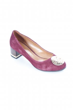 Lola cruz Pumps purpur Eleganz-Look