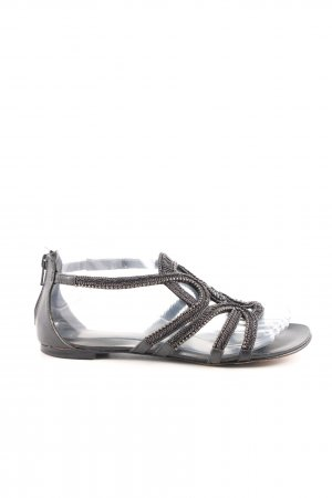 Lola cruz Strapped Sandals black casual look