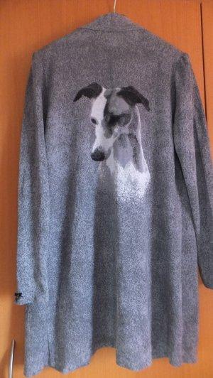 Lola Paltinger Designer Jacke mit Hundeportrait