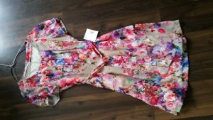 Lola Paltinger Kleid nude mit Blumenmuster 38 neu