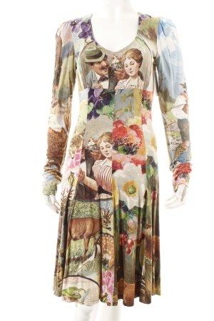 Lola Paltinger Langarmkleid florales Muster Casual-Look
