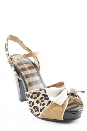 Lola ramona High Heel Sandaletten Leomuster Animal-Look