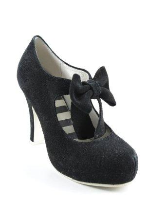 Lola ramona High Heels schwarz Romantik-Look