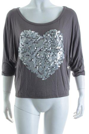 lola Shirt grau Casual-Look