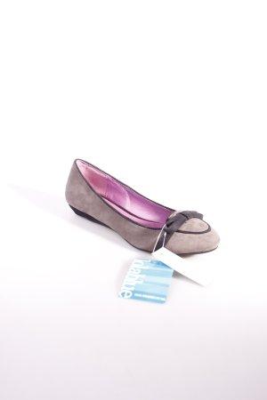 LolaBlue Mary Jane Ballerinas schwarz-grau klassischer Stil