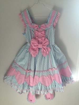 Lolita JSK Sweet Kawaii Japan Colorful Heart Angelic Pretty