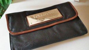 LOLLIPOPS Clutch Abendtasche schwarz/braun/gold - neu