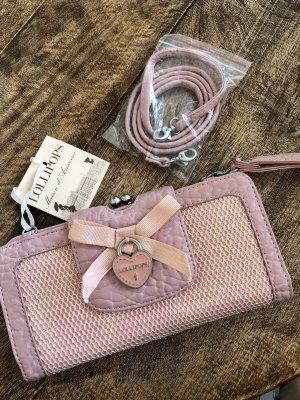 Lollipops Clutch stoffig roze-lichtroze