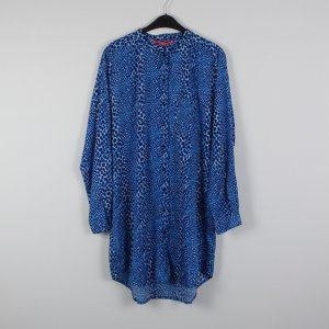 LOLLYS LAUNDRY Kleid Hemdkleid Gr. M blau oversized NEU (18/5/224)