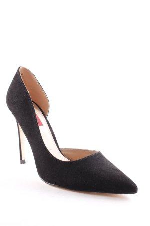 London Rebel High Heels schwarz Elegant