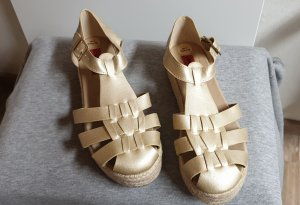 London Rebel - Sandalen Plateau Gold