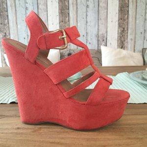 London Rebel Sandalen Wedges, Schuhe mit Keilabsatz in Größe 39