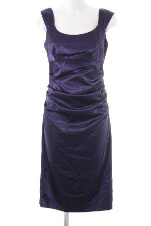 London Times Abendkleid dunkelviolett Elegant