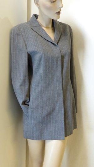 Blazer in lana grigio-sabbia Lana vergine