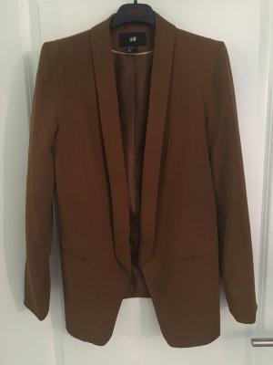 H&M Long Blazer brown