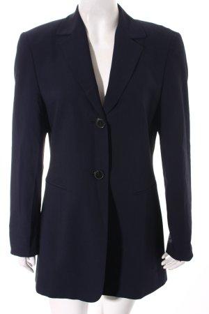 Long-Blazer dunkelblau Elegant