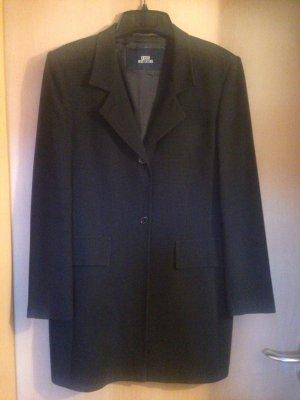 Berri Sport Couture Blazer lungo blu scuro-bianco sporco