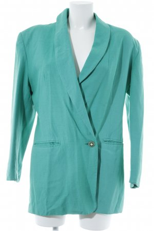 Long-Blazer mint Casual-Look