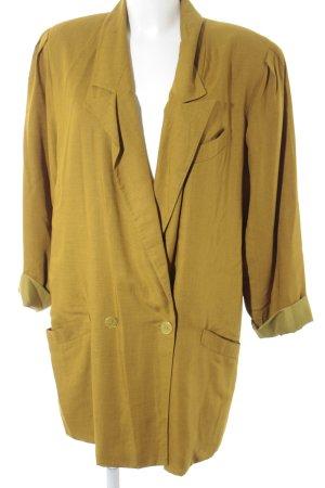 Long-Blazer olivgrün Casual-Look