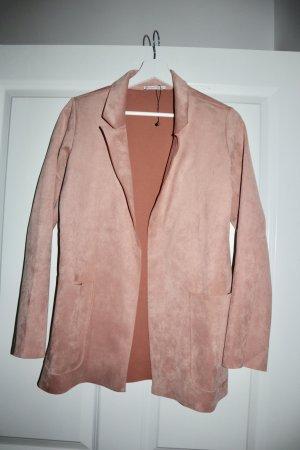 Zara Blazer largo rosa