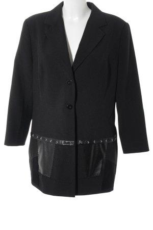 Long-Blazer schwarz Elegant