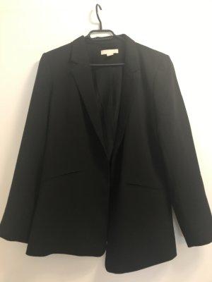 Long-Blazer schwarz H&M 42