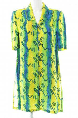 Long Blouse abstract pattern extravagant style