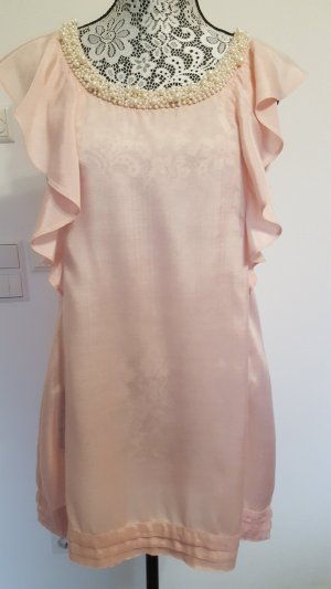 Dorothy Perkins Blouse longue or rose