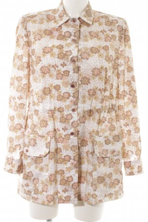Long-Bluse Blumenmuster Hippie-Look