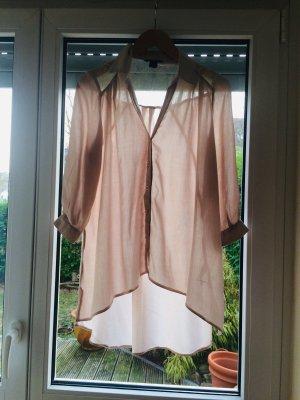 Long Bluse / Bluse/ Shirt/ oversized / Spitze
