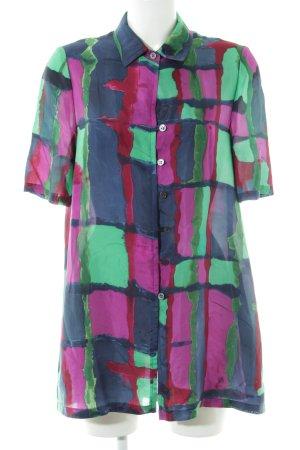 Long Blouse color gradient extravagant style