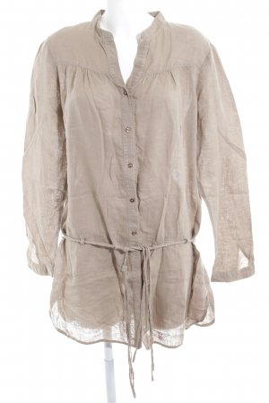 Long-Bluse khaki Casual-Look