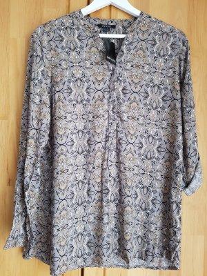 Long Bluse Tunika Gr. S Esmara Neu mit Etikett Farbe taupe