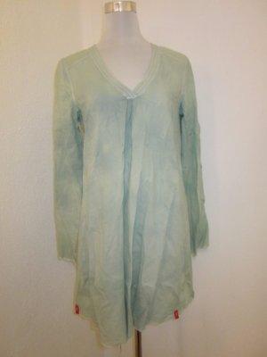 Long Bluse Tunika Mintgrün Gr 38