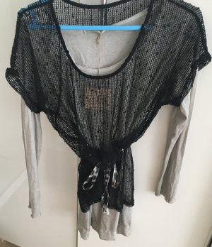Long Bluse von Made in italy