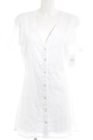 Camicetta lunga bianco stile casual