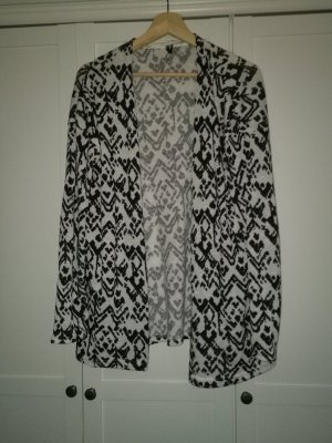 long Cardigan animal Print