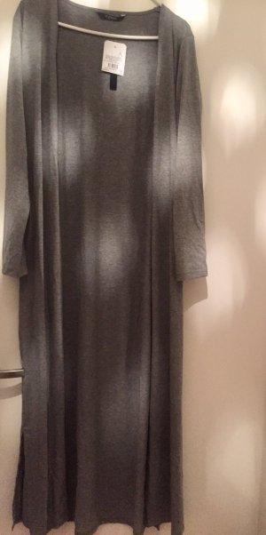 Long cardigan Grau miliert