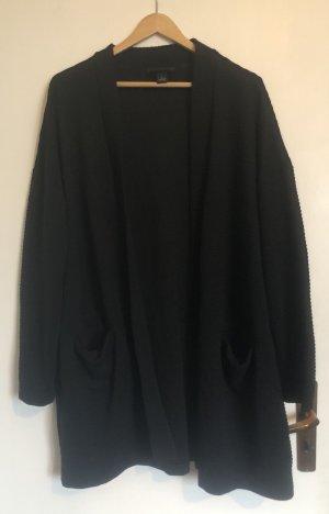Monki Cardigan in maglia nero
