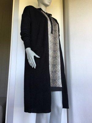 Long Cardigan lange Strickjacke Strickmantel schwarz Vero Moda schwarz xs s