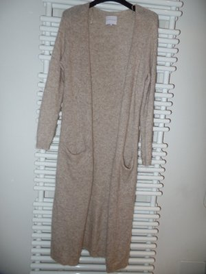 Second Female Cardigan in maglia beige Lana