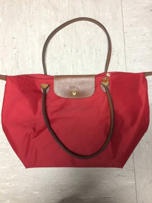 Longchamp Shopper carmine