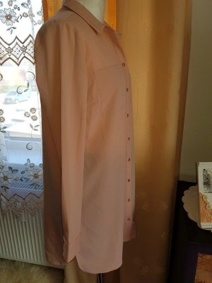 Long Hemd Hemdbluse Bluse Gr. M (38) Neu Pieces Tunika Long shirt Oversize
