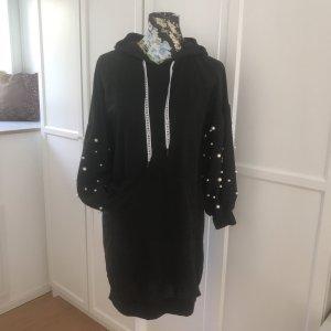 Capuchon sweater zwart